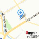 Сектор государственной экологической экспертизы на карте Санкт-Петербурга