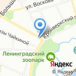 Тенсар интернэшнл на карте Санкт-Петербурга