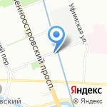 Фирма КГД на карте Санкт-Петербурга