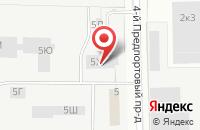 Схема проезда до компании Теери в Санкт-Петербурге