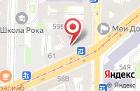 Схема проезда до компании Сигма в Санкт-Петербурге