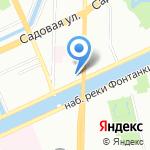 ВАБ на карте Санкт-Петербурга