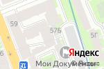 Схема проезда до компании АС Кодекс в Санкт-Петербурге