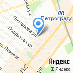 LABAR на карте Санкт-Петербурга