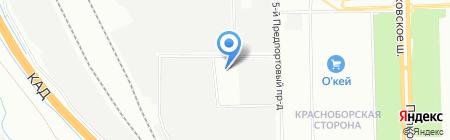 Авто-Тахограф на карте Санкт-Петербурга