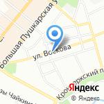 ПОНЧКОФФ на карте Санкт-Петербурга