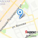 Петроградское добровольное пожарное общество на карте Санкт-Петербурга