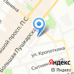 Транскомпроект на карте Санкт-Петербурга