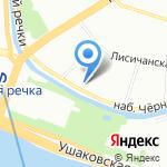 Объединенная Лизинговая Ассоциация на карте Санкт-Петербурга