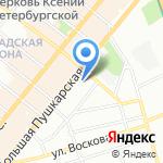 Дентал Арт на карте Санкт-Петербурга