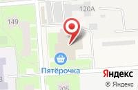 Схема проезда до компании Пятёрочка в Агалатово