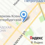 ALISA ESTATE на карте Санкт-Петербурга