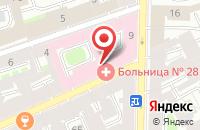 Схема проезда до компании Промсервис в Санкт-Петербурге