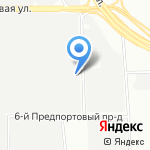 Петербургский мельничный комбинат на карте Санкт-Петербурга