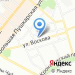 Комплексный центр социального обслуживания населения Петроградского района на карте Санкт-Петербурга