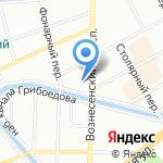 mercurius Russia на карте Санкт-Петербурга