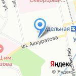 Объедение на карте Санкт-Петербурга