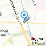 Банкомат на карте Санкт-Петербурга