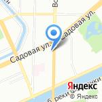 Академический медицинский центр на карте Санкт-Петербурга
