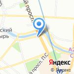Русские пироги на карте Санкт-Петербурга