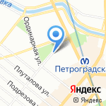 Интерес на карте Санкт-Петербурга