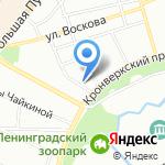 Профессиональный стандарт плюс на карте Санкт-Петербурга