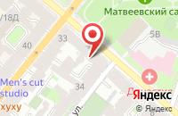 Схема проезда до компании АКБ Наш дом в Дзержинском