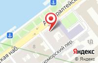 Схема проезда до компании Совтпроф в Санкт-Петербурге