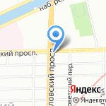 Часовня Свято-Троицкого Измайловского Собора на карте Санкт-Петербурга