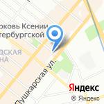 Контек-Столица на карте Санкт-Петербурга