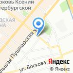 Артлайт Групп на карте Санкт-Петербурга