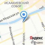 Санкт-Петербургская избирательная комиссия на карте Санкт-Петербурга