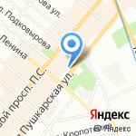 Fusion Collection на карте Санкт-Петербурга