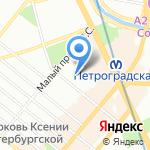 Институт независимых социально-экономических исследований на карте Санкт-Петербурга