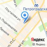 ISAIA на карте Санкт-Петербурга