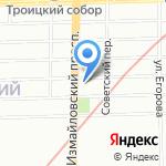 ПЧЕЛКА на карте Санкт-Петербурга