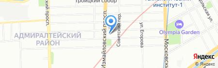 Ситилинк на карте Санкт-Петербурга