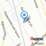 Легион-Строй на карте Санкт-Петербурга