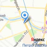 Tiffani на карте Санкт-Петербурга