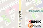 Схема проезда до компании Все твои друзья в Санкт-Петербурге