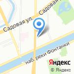 Ланс Групп на карте Санкт-Петербурга