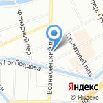 Xtile на карте Санкт-Петербурга