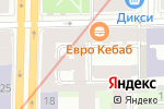 Схема проезда до компании Библиотека книжной графики в Санкт-Петербурге