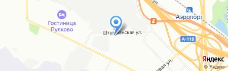 АэроБалтСервис на карте Санкт-Петербурга