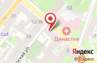 Схема проезда до компании Евростиль в Астрахани
