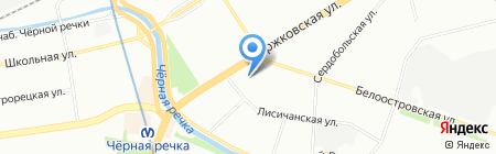 ВЕРТЕС Петербург на карте Санкт-Петербурга