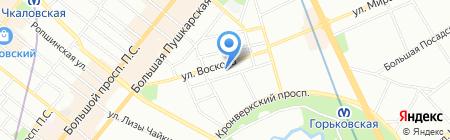 Бука на карте Санкт-Петербурга