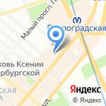 Магазин медиапродукции на карте Санкт-Петербурга