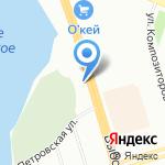 Тепломонтаж на карте Санкт-Петербурга