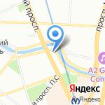 Серебро на карте Санкт-Петербурга